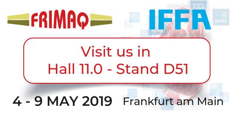 Frimaq estará presente en la IFFA 2019 en Frankfurt.