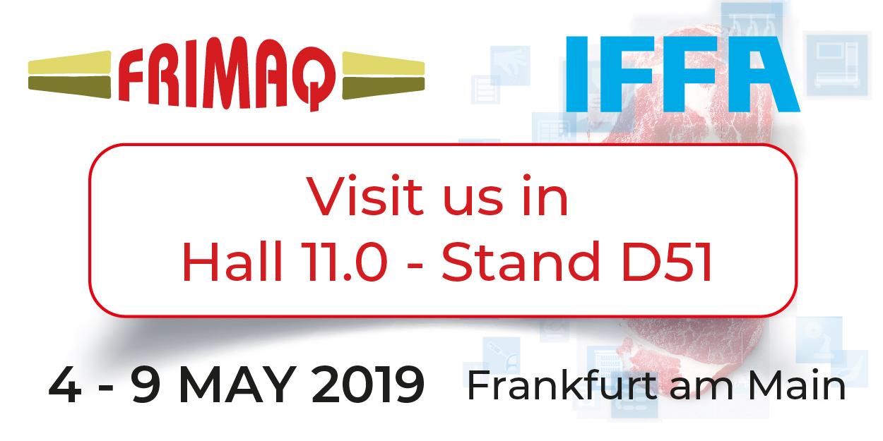 Lee más sobre el artículo Frimaq estará presente en la IFFA 2019 en Frankfurt.